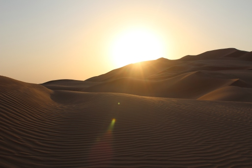 Empty Quarter -- near Liwa, United Arab Emirates