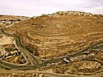 View from the castle --Karak, Jordan
