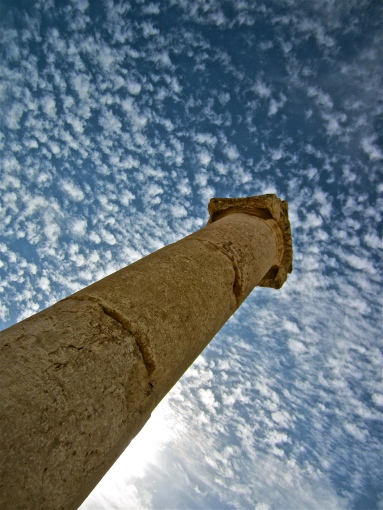 PIllar -- Jerash, Jordan