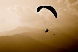 Paragliding -- Pokhara, Nepal