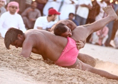 Pehlwani wrestling -- Dubai, United Arab Emirates