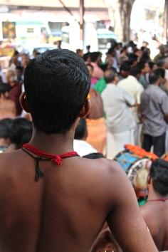 Theyembaka drummer -- Kollam, Kerala, India